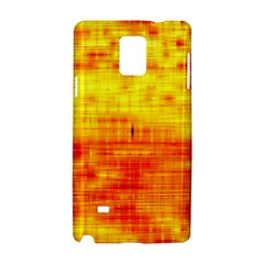 Bright Background Orange Yellow Samsung Galaxy Note 4 Hardshell Case