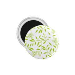 Leaves Pattern Seamless 1.75  Magnets