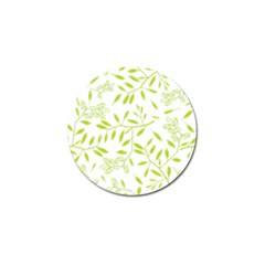 Leaves Pattern Seamless Golf Ball Marker (4 Pack)