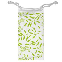 Leaves Pattern Seamless Jewelry Bag