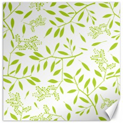 Leaves Pattern Seamless Canvas 12  x 12