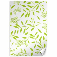 Leaves Pattern Seamless Canvas 20  X 30