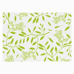 Leaves Pattern Seamless Large Glasses Cloth (2-Side)