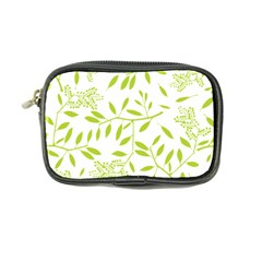 Leaves Pattern Seamless Coin Purse