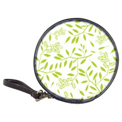 Leaves Pattern Seamless Classic 20-CD Wallets