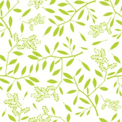 Leaves Pattern Seamless Magic Photo Cubes