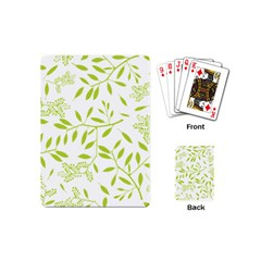 Leaves Pattern Seamless Playing Cards (Mini)