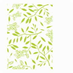 Leaves Pattern Seamless Small Garden Flag (Two Sides)