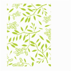 Leaves Pattern Seamless Large Garden Flag (Two Sides)