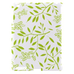 Leaves Pattern Seamless Apple iPad 3/4 Hardshell Case (Compatible with Smart Cover)