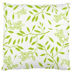 Leaves Pattern Seamless Large Cushion Case (One Side)