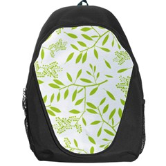 Leaves Pattern Seamless Backpack Bag