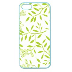 Leaves Pattern Seamless Apple Seamless iPhone 5 Case (Color)