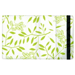 Leaves Pattern Seamless Apple iPad 3/4 Flip Case