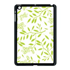 Leaves Pattern Seamless Apple iPad Mini Case (Black)