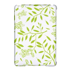 Leaves Pattern Seamless Apple iPad Mini Hardshell Case (Compatible with Smart Cover)