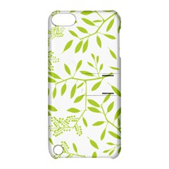 Leaves Pattern Seamless Apple iPod Touch 5 Hardshell Case with Stand