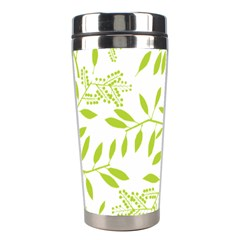 Leaves Pattern Seamless Stainless Steel Travel Tumblers
