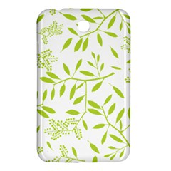 Leaves Pattern Seamless Samsung Galaxy Tab 3 (7 ) P3200 Hardshell Case