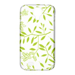 Leaves Pattern Seamless Samsung Galaxy S4 Classic Hardshell Case (PC+Silicone)