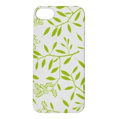 Leaves Pattern Seamless Apple iPhone 5S/ SE Hardshell Case