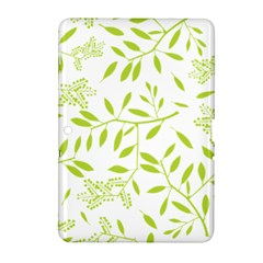 Leaves Pattern Seamless Samsung Galaxy Tab 2 (10.1 ) P5100 Hardshell Case