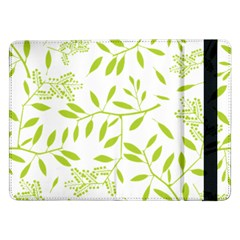 Leaves Pattern Seamless Samsung Galaxy Tab Pro 12.2  Flip Case