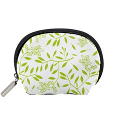 Leaves Pattern Seamless Accessory Pouches (Small)