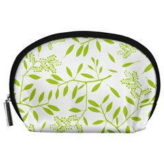 Leaves Pattern Seamless Accessory Pouches (large)