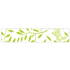 Leaves Pattern Seamless Flano Scarf (Small)