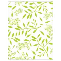Leaves Pattern Seamless Drawstring Bag (Large)