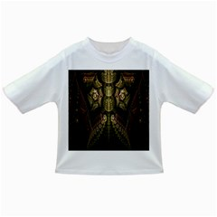 Fractal Abstract Patterns Gold Infant/Toddler T-Shirts