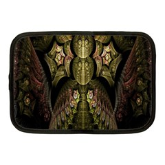 Fractal Abstract Patterns Gold Netbook Case (Medium)