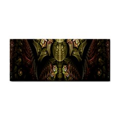 Fractal Abstract Patterns Gold Cosmetic Storage Cases