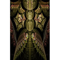 Fractal Abstract Patterns Gold 5 5  X 8 5  Notebooks