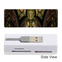 Fractal Abstract Patterns Gold Memory Card Reader (stick)