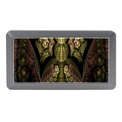 Fractal Abstract Patterns Gold Memory Card Reader (Mini)