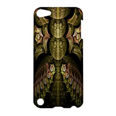 Fractal Abstract Patterns Gold Apple iPod Touch 5 Hardshell Case