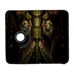 Fractal Abstract Patterns Gold Galaxy S3 (flip/folio)