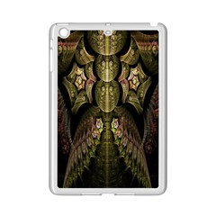 Fractal Abstract Patterns Gold iPad Mini 2 Enamel Coated Cases