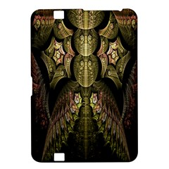 Fractal Abstract Patterns Gold Kindle Fire HD 8.9