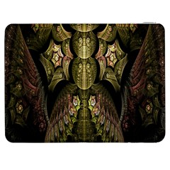 Fractal Abstract Patterns Gold Samsung Galaxy Tab 7  P1000 Flip Case