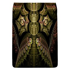 Fractal Abstract Patterns Gold Flap Covers (s)