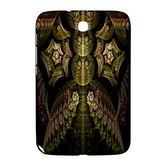 Fractal Abstract Patterns Gold Samsung Galaxy Note 8.0 N5100 Hardshell Case