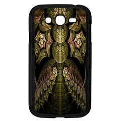 Fractal Abstract Patterns Gold Samsung Galaxy Grand DUOS I9082 Case (Black)