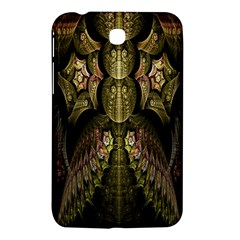 Fractal Abstract Patterns Gold Samsung Galaxy Tab 3 (7 ) P3200 Hardshell Case