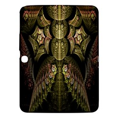 Fractal Abstract Patterns Gold Samsung Galaxy Tab 3 (10.1 ) P5200 Hardshell Case
