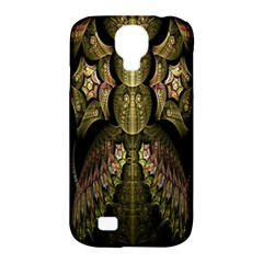 Fractal Abstract Patterns Gold Samsung Galaxy S4 Classic Hardshell Case (PC+Silicone)