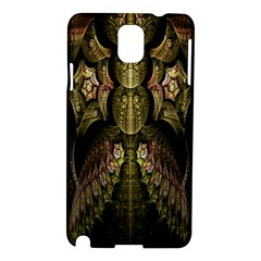 Fractal Abstract Patterns Gold Samsung Galaxy Note 3 N9005 Hardshell Case