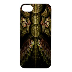 Fractal Abstract Patterns Gold Apple iPhone 5S/ SE Hardshell Case